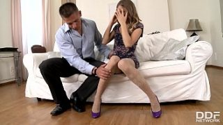 petite teen avril sun and 039 s kinky afternoon foot fetish nylon sex adventure